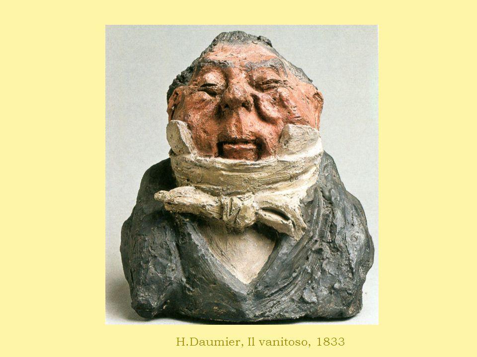 H.Daumier, Il vanitoso, 1833