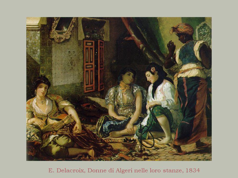 E. Delacroix, Donne di Algeri nelle loro stanze, 1834