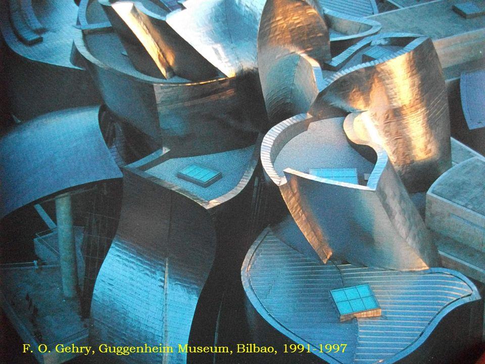 F. O. Gehry, Guggenheim Museum, Bilbao, 1991-1997