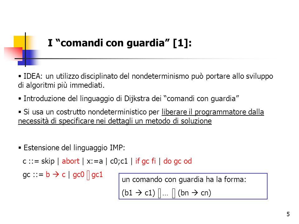 36 Flussi di informazione sicuri in programmi concorrenti – Delimited Information Release  La noninterferenza è una proprietà troppo forte per le applicazioni pratiche  Necessità di prevedere rilasci, declassificazioni di informazioni segrete  Esempio: D= {H1 > 5, H1 + H2} D= {Aexp, Bexp}  Anche le informazioni ottenute combinando gli elementi di D saranno degradate: (2H1 – 10 >0), (H2 + H1 + 1)  (D)  Definizione:  = l,D  se  = l  e  (d  D)  c sse  c  E' perciò possibile istanziare la condizione di generalized unwinding in un contesto che tenga conto della declassificazione di informazioni.