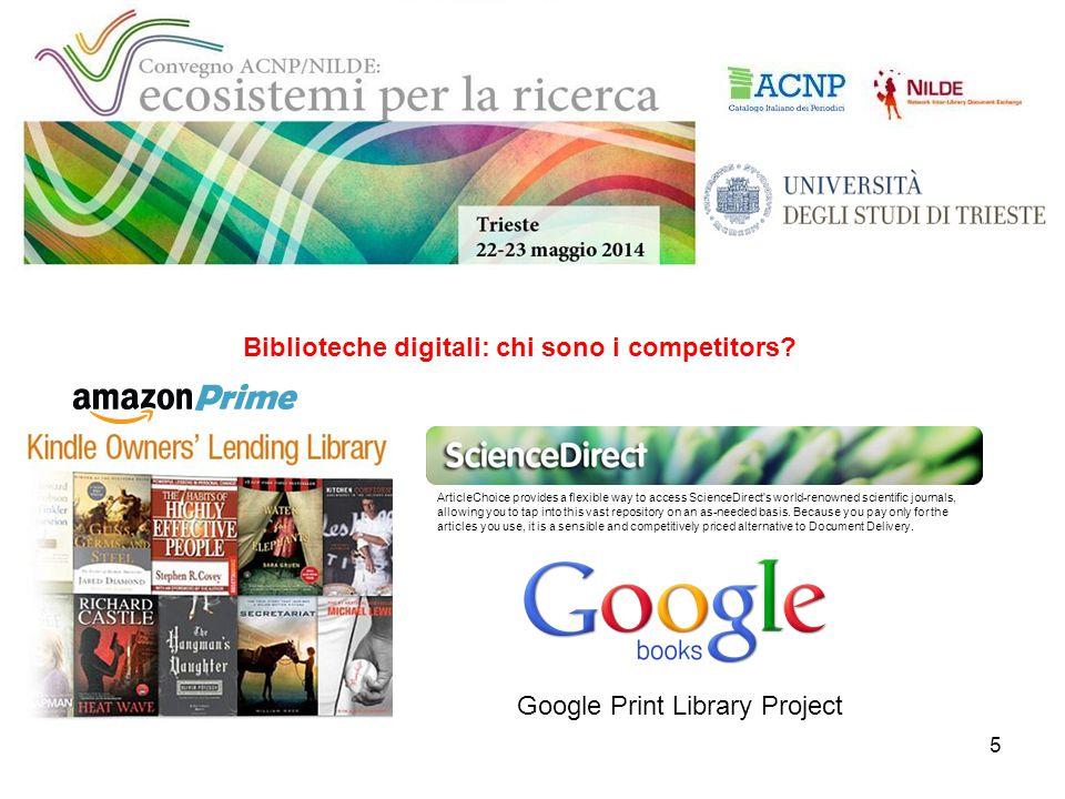 16 2011 – con Nilde 4.0 introduzione di RANK (algoritmo che identifica le biblioteche fornitrici in base al maggior numero di scompensi a livello globale del sistema)