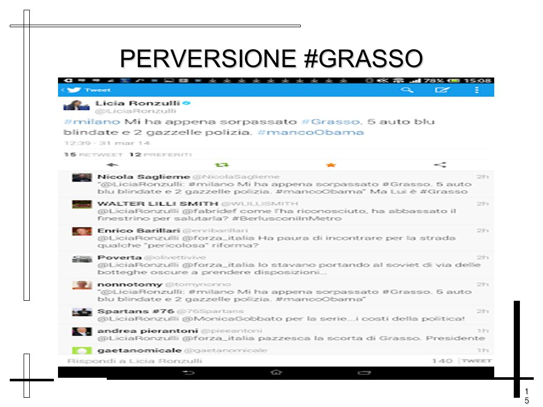 15151515 PERVERSIONE #GRASSO