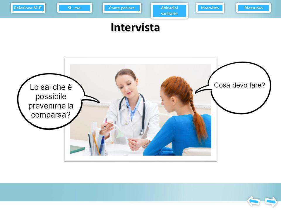 Intervista Cosa sai sul cancro del collo dell'utero.