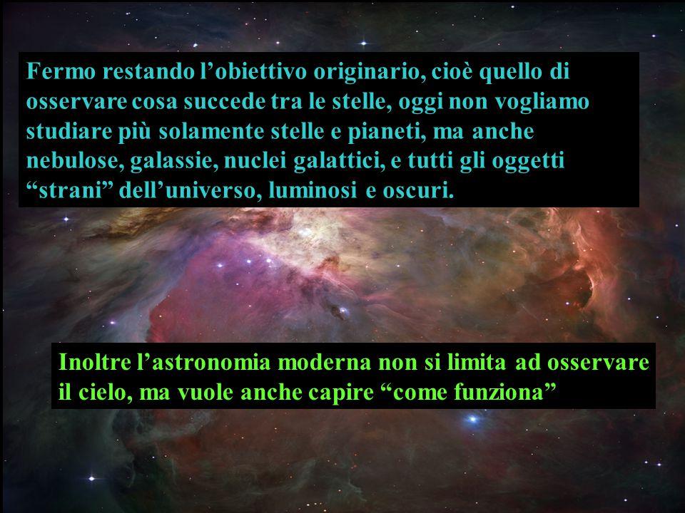 Si può a questo punto fare un'ulteriore osservazione : l'esplorazione spaziale è fonte di ricchezza.
