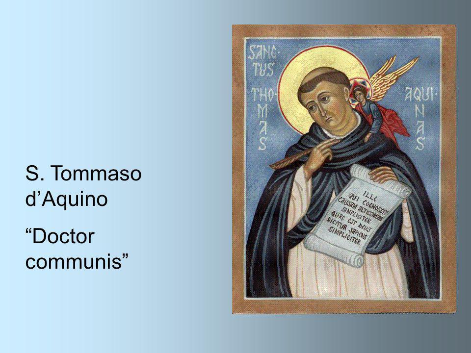 "S. Tommaso d'Aquino ""Doctor communis"""