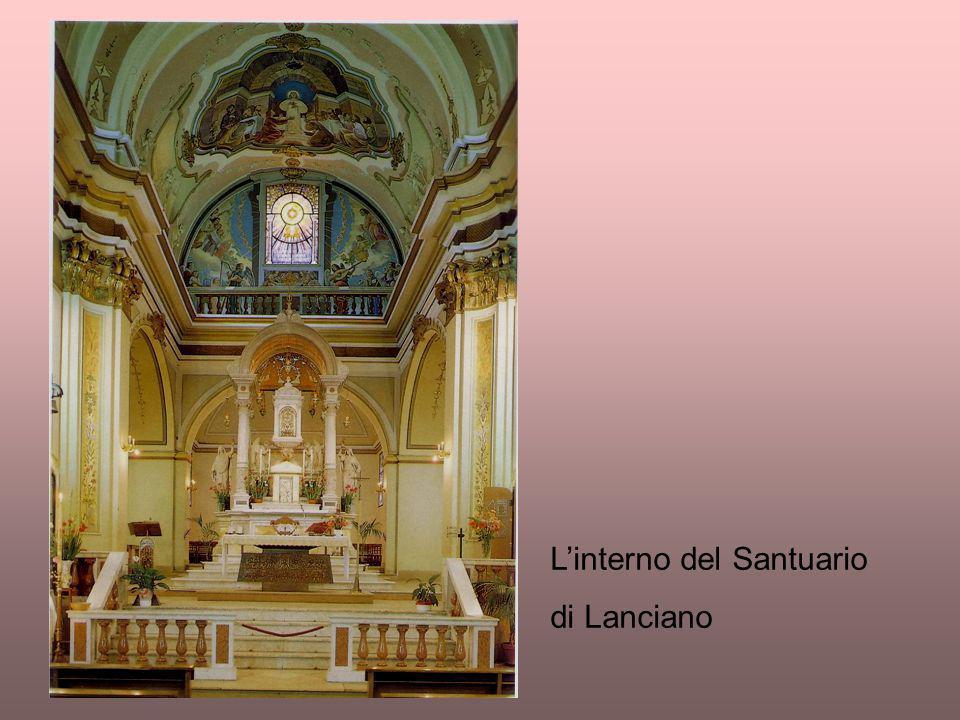 L'interno del Santuario di Lanciano