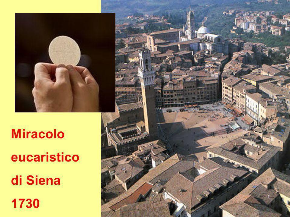 Miracolo eucaristico di Siena 1730
