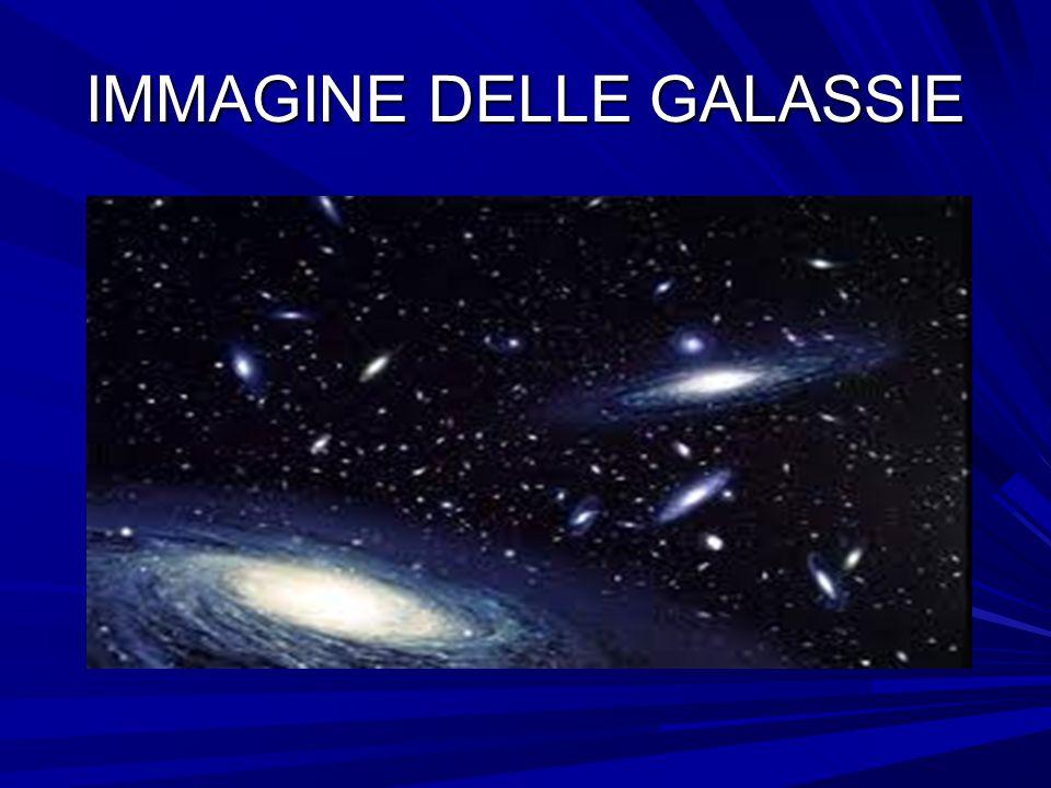 IMMAGINE DELLE GALASSIE