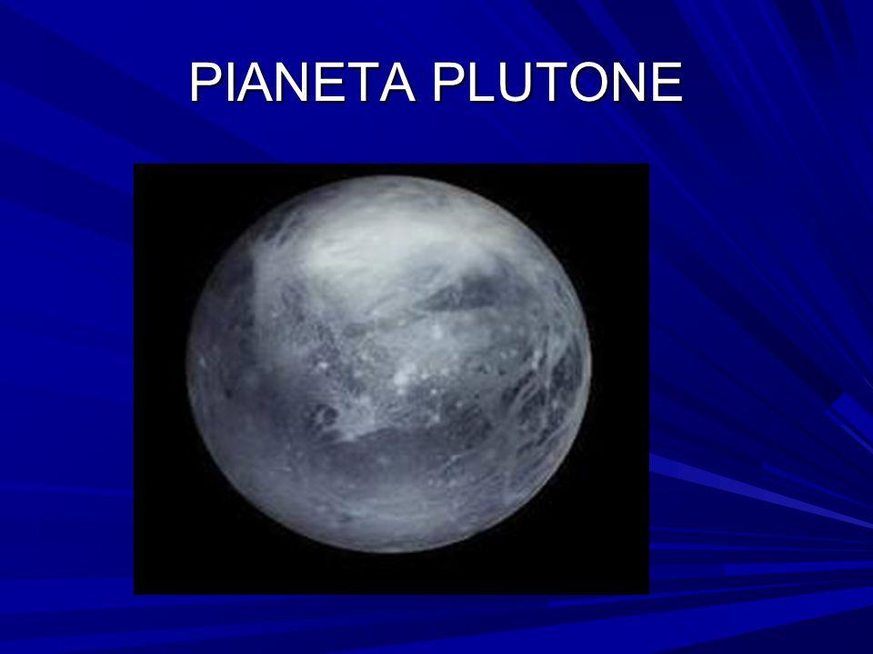 PIANETA PLUTONE