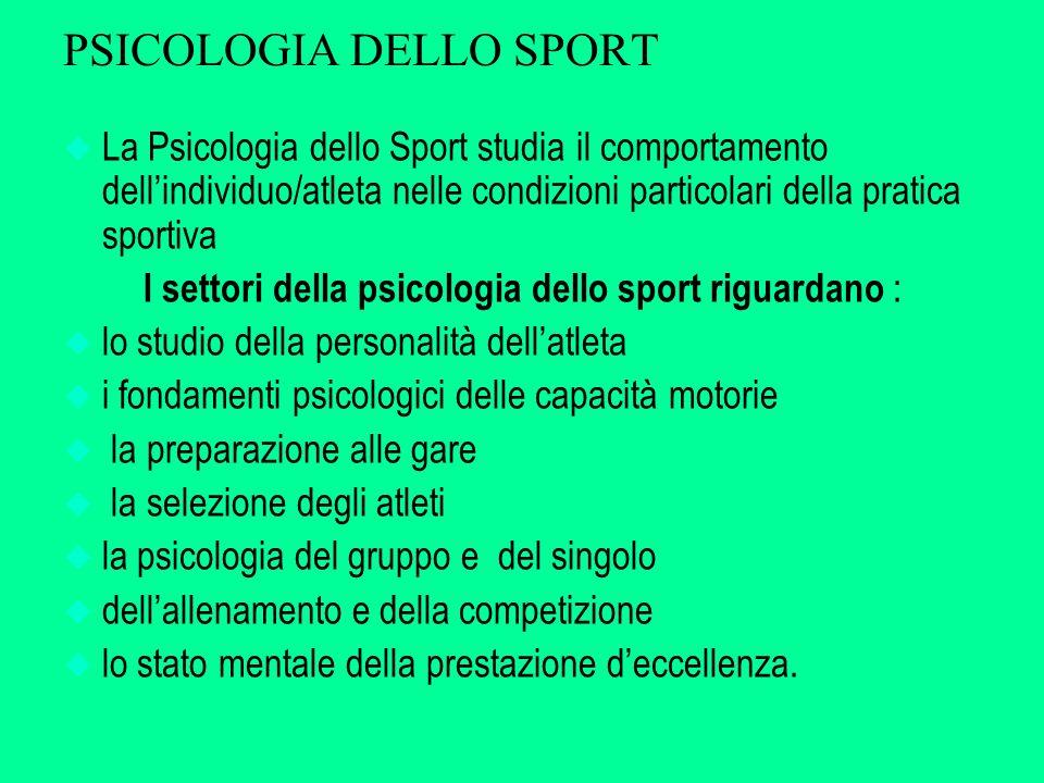 Gli atleti orientati al sé u Considerano l'attività sportiva come un mezzo per dimostrare la loro superiorità u Hanno una riduzione dell'interesse intrinseco e del piacere tratto dall'attività sportiva