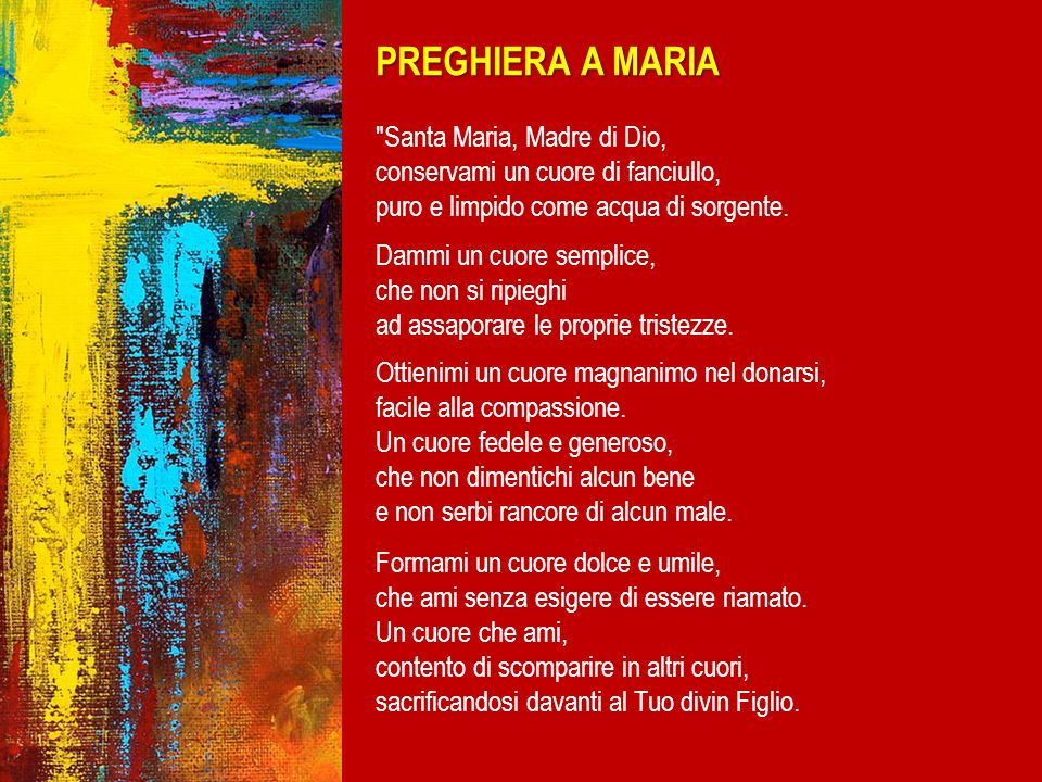 PREGHIERA A MARIA