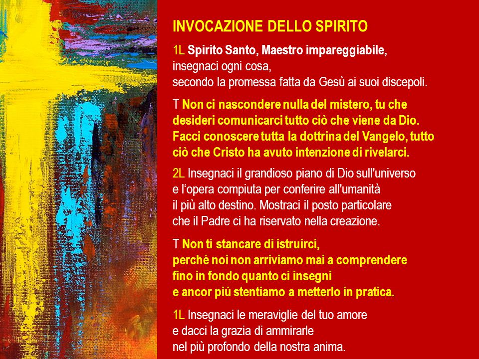 Il percorso di quest'anno Q UANDO INIZIA .Domenica 28 Settembre Ore 11.30; Duomo S.