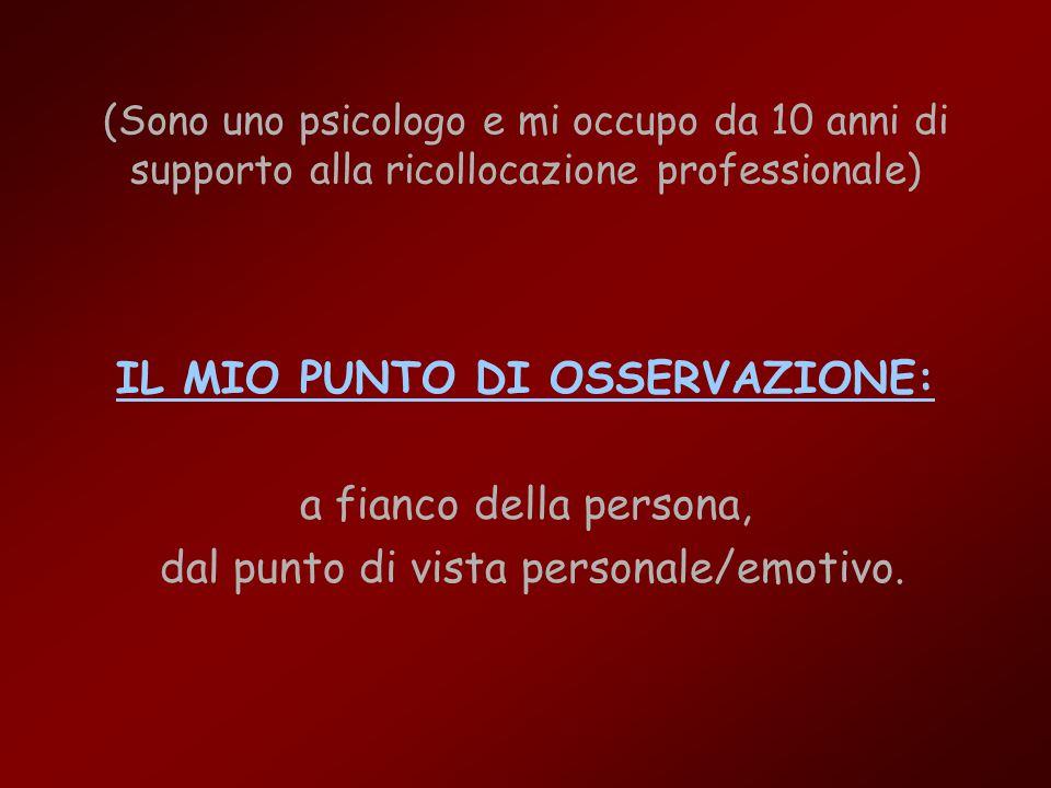 Ricollocazione Professionale (servizio professionale alla persona) Separazione Ricollocazione Professionale Professionale