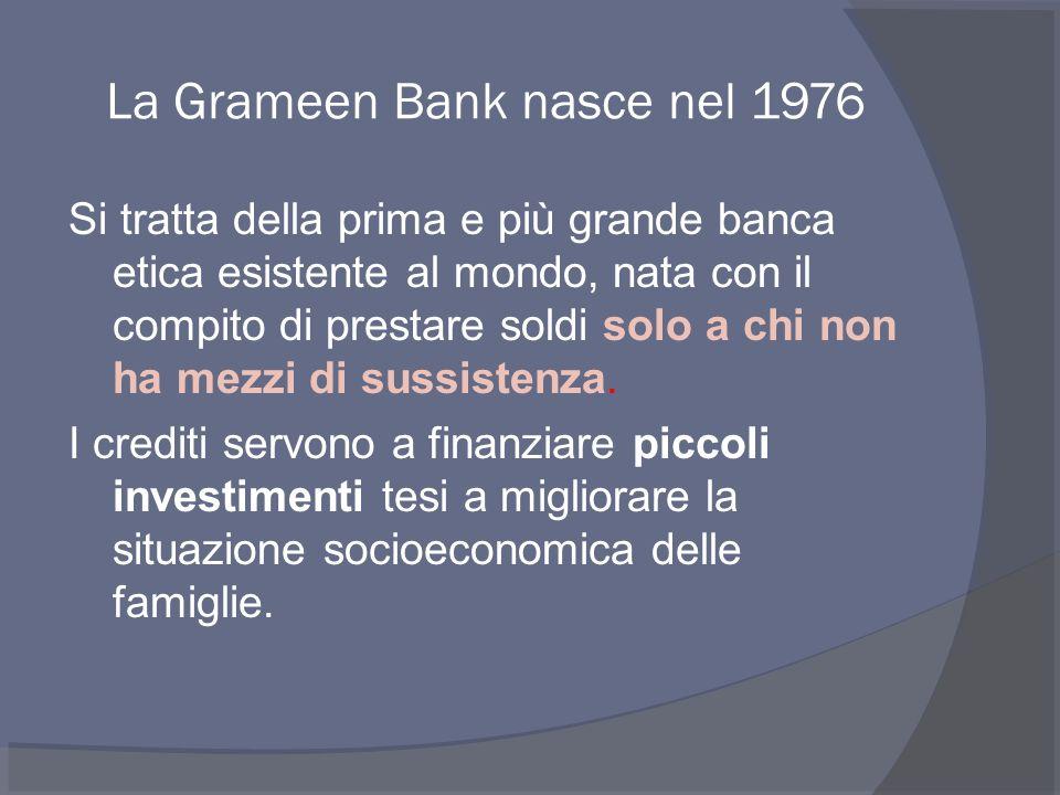 Ma cosa ha di diverso il modello Banca Etica.