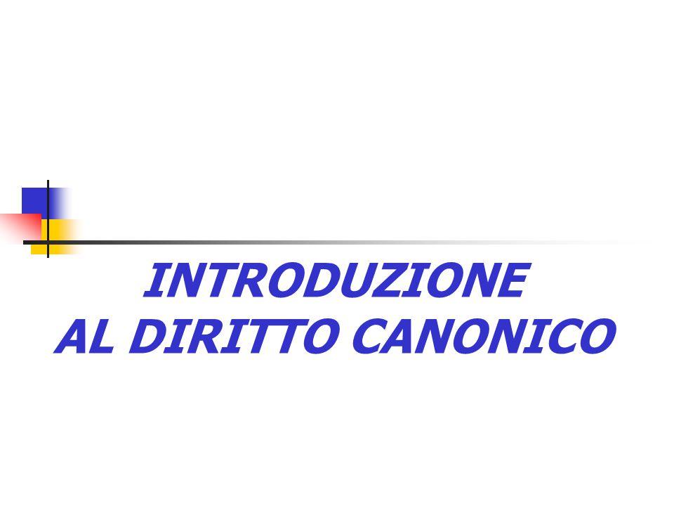 FONDAMENTO TEOLOGICO DEL DIRITTO CANONICO