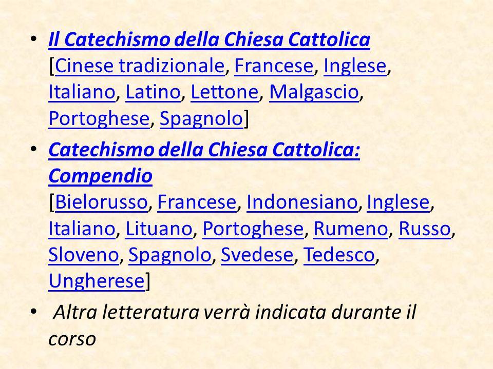 Il Catechismo della Chiesa Cattolica [Cinese tradizionale, Francese, Inglese, Italiano, Latino, Lettone, Malgascio, Portoghese, Spagnolo] Il Catechism