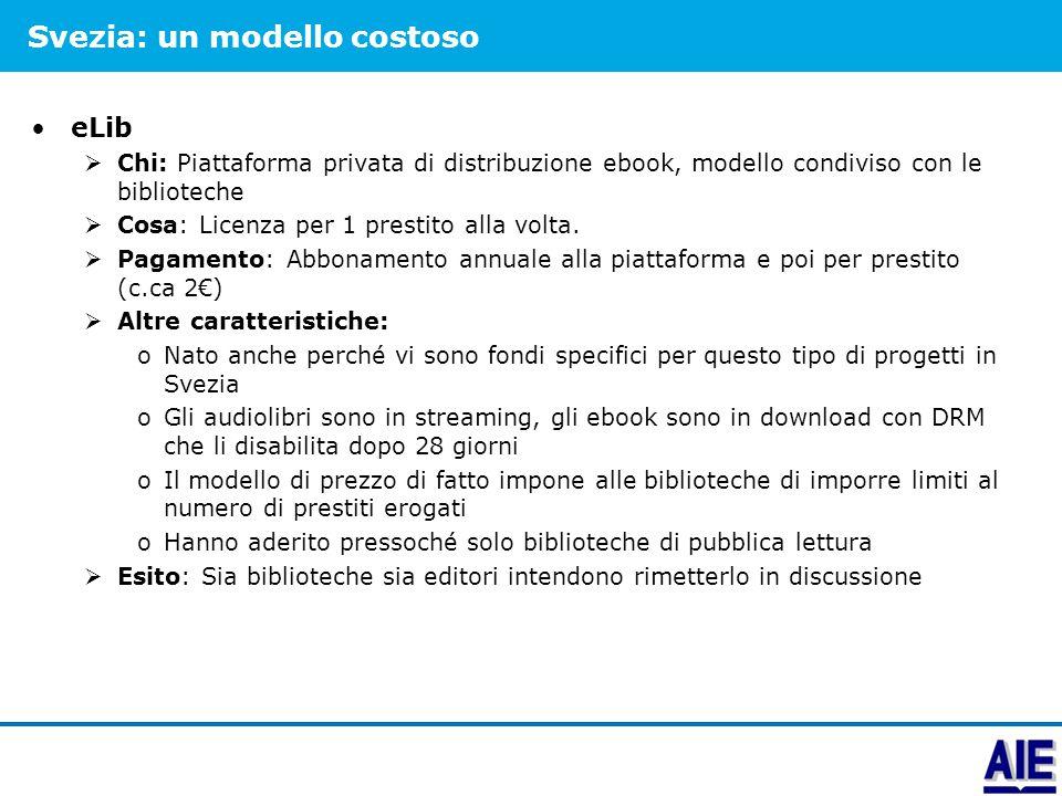 Francia: una pluralità di offerte Immateriel  Piattaforma privata, propone licenze su «scaffali» di libri, personalizzabili, accessibili da piattaforma dagli utenti (no download).