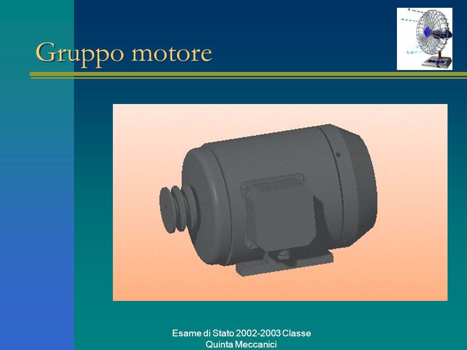 Esame di Stato 2002-2003 Classe Quinta Meccanici Gruppo motore