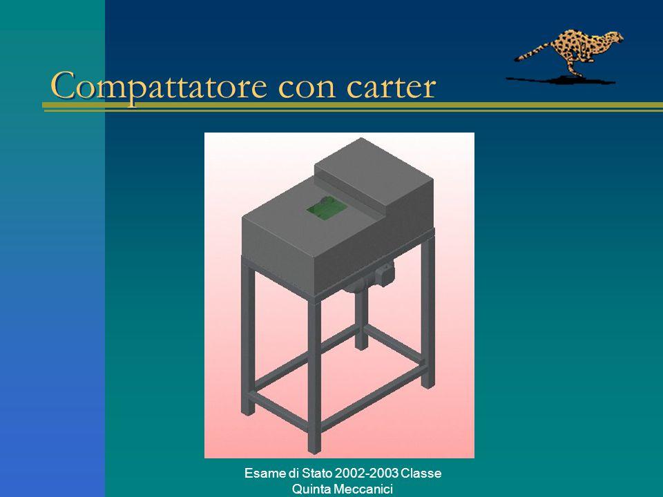 Esame di Stato 2002-2003 Classe Quinta Meccanici Compattatore con carter
