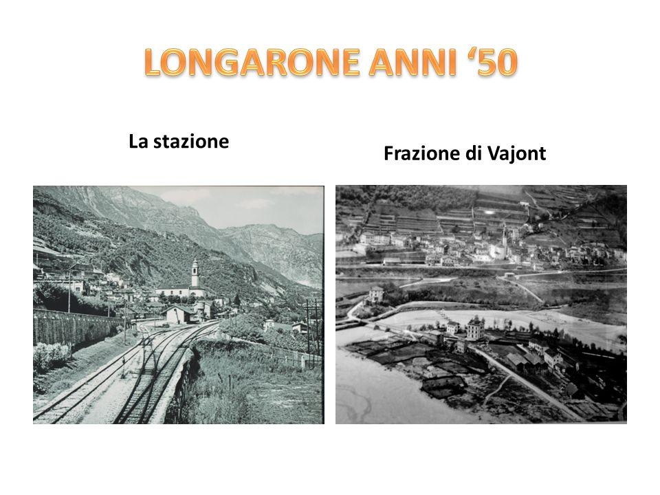 La stazione Frazione di Vajont