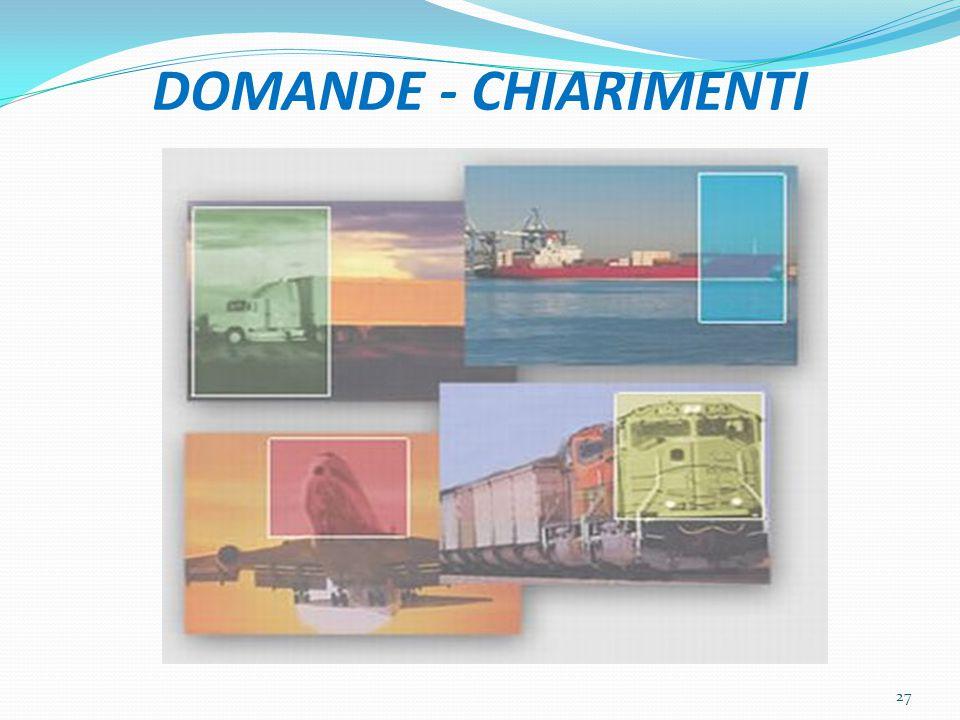 DOMANDE - CHIARIMENTI 27