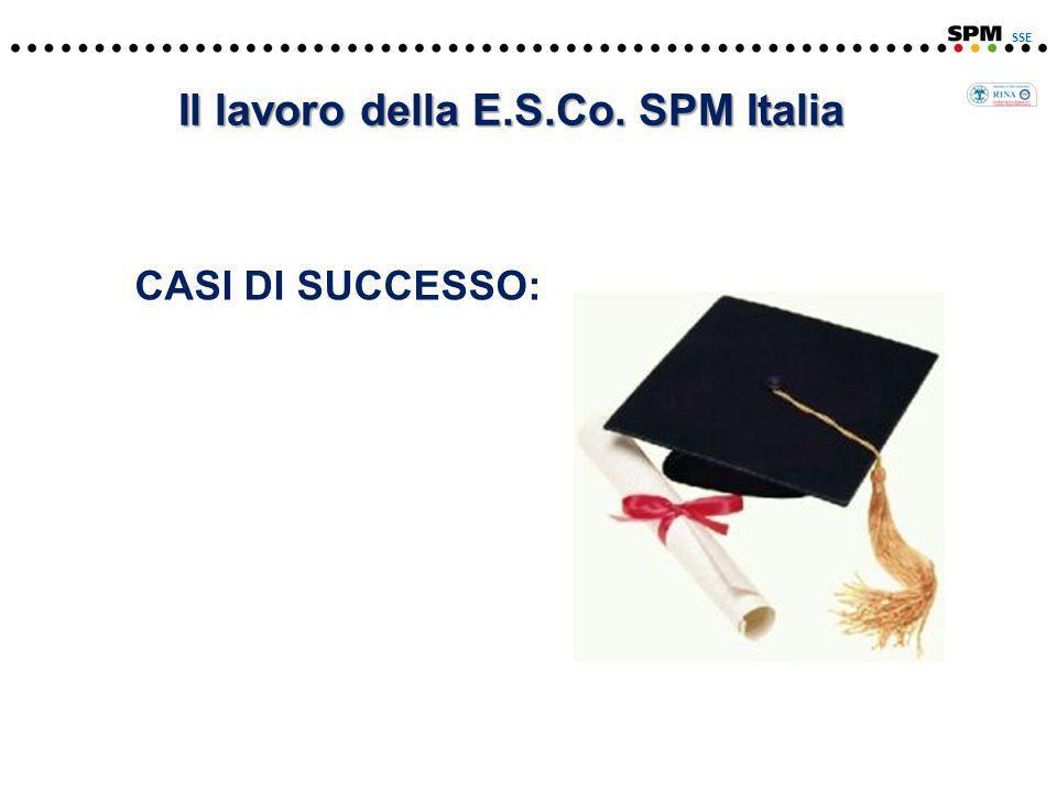 CASI DI SUCCESSO: SSE Il lavoro della E.S.Co. SPM Italia