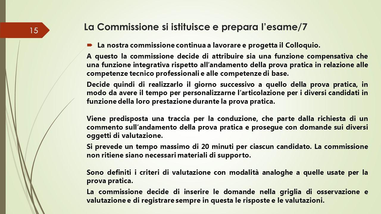 La Commissione si istituisce e prepara l'esame/8 Ancora altre scelte della nostra commissione…  Prova scritta: viene selezionato un testo su tematiche coerenti con l'oggetto della prova (competenza storico, socio-economica).