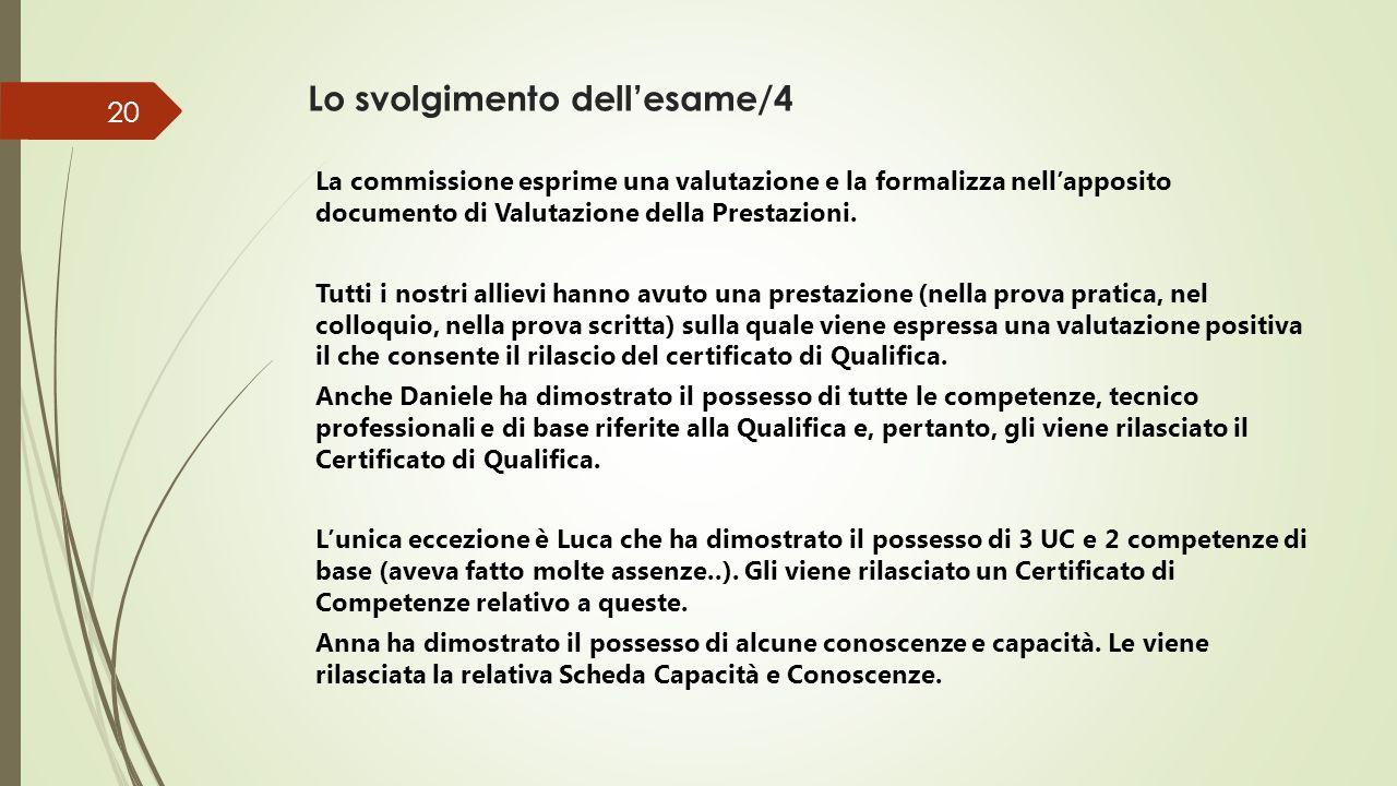 Il colloquio valutativo/1 E Martino e Gino, che non avevano i requisiti per accedere all'esame e sono stati ammessi al Colloquio valutativo.