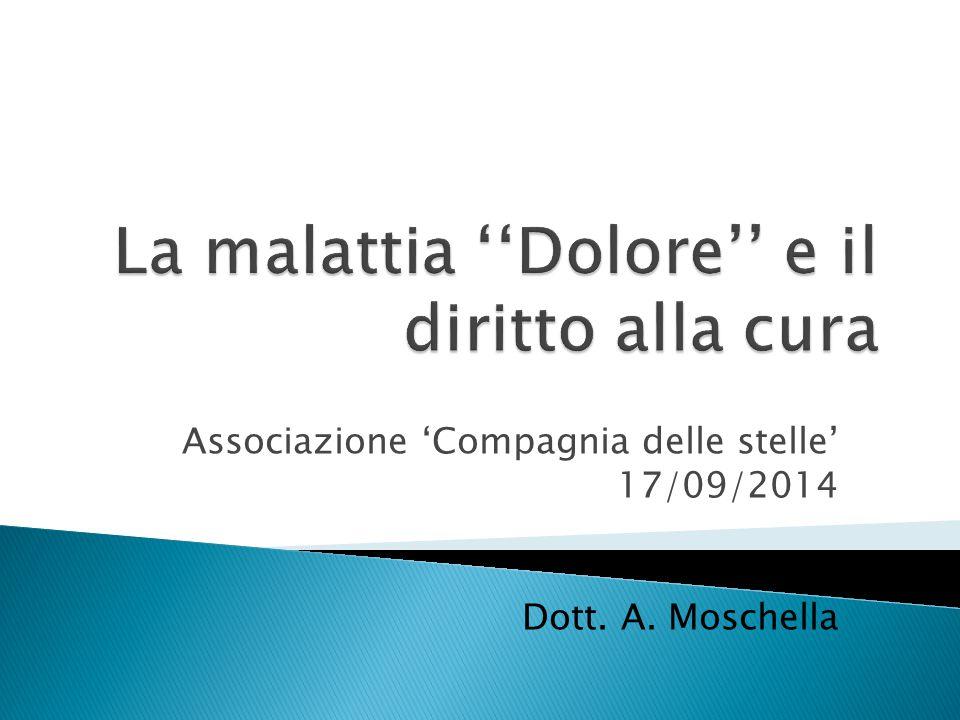 Associazione 'Compagnia delle stelle' 17/09/2014 Dott. A. Moschella