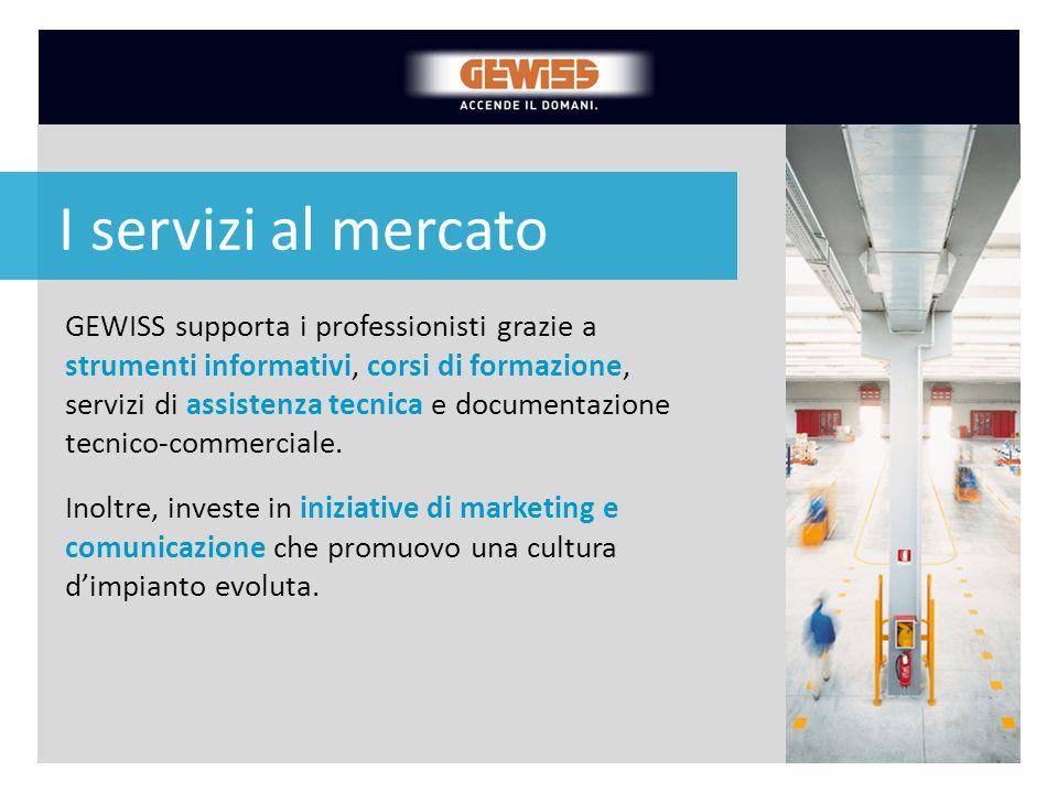 GEWISS supporta i professionisti grazie a strumenti informativi, corsi di formazione, servizi di assistenza tecnica e documentazione tecnico-commercia