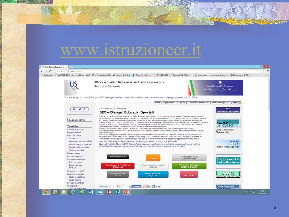 Materiali USR E-R L'USR Emilia-Romagna pubblica regolarmente materiali per la formazione dei docenti su diversi temi ed argomenti.