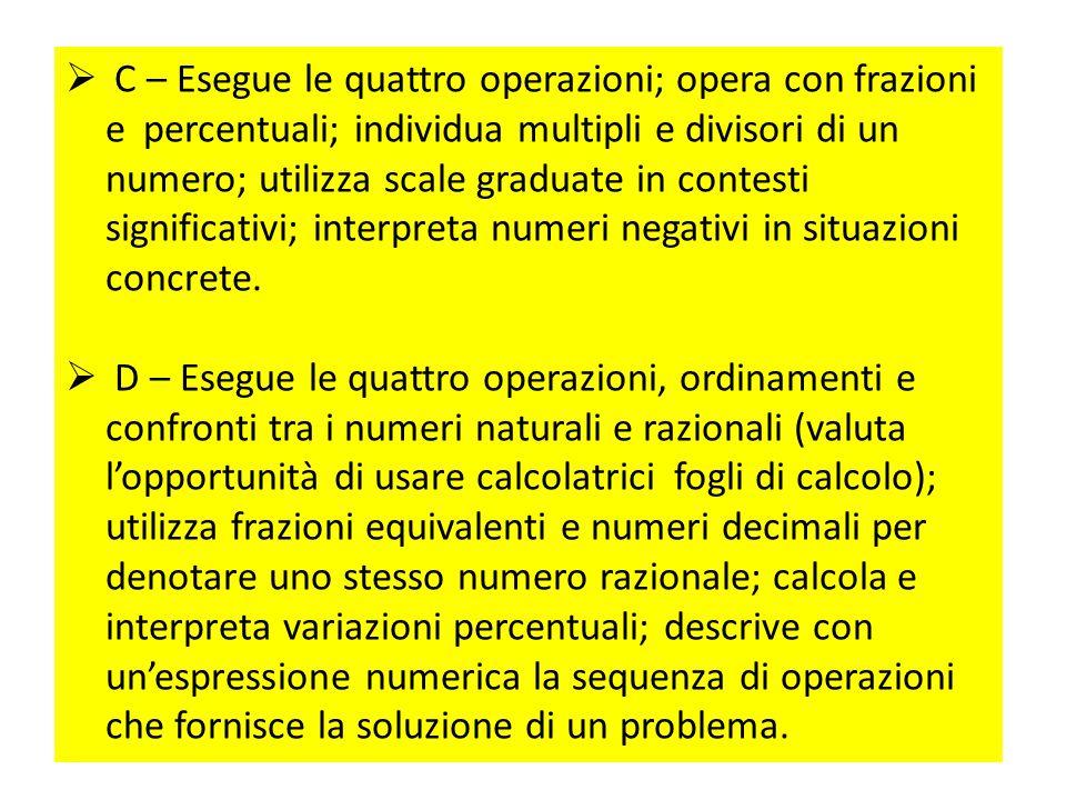 Cerchiamo di cogliere la manifesta verticalità, progressività, unitarietà del curricolo dell'Operare con i numeri.  A – Raggruppa oggetti e materiali