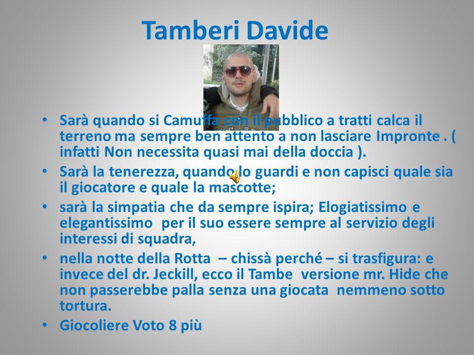 Tamberi Davide Sarà quando si Camuffa con il pubblico a tratti calca il terreno ma sempre ben attento a non lasciare Impronte.