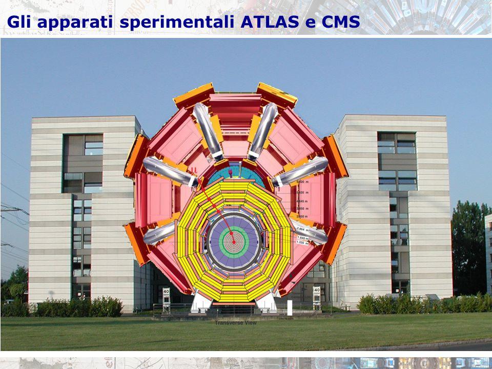 Gli apparati sperimentali ATLAS e CMS
