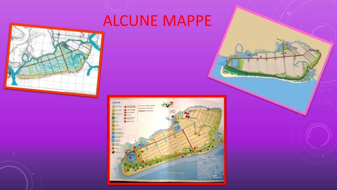 ALCUNE MAPPE