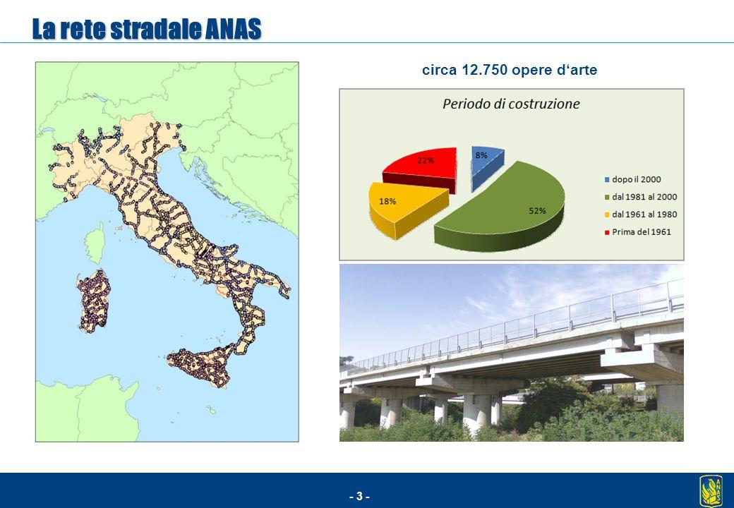 - 3 - La rete stradale ANAS circa 12.750 opere d'arte