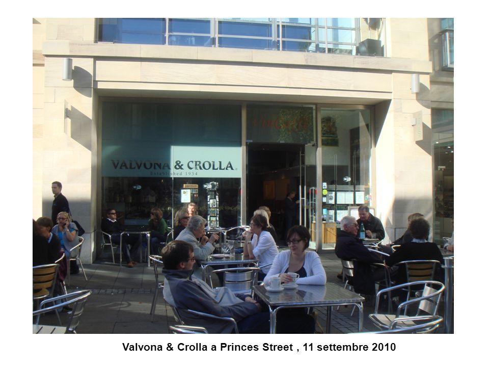 Valvona & Crolla a Princes Street, 11 settembre 2010