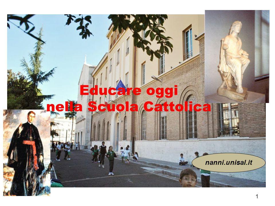 Il Vangelo della carità educativa 1.