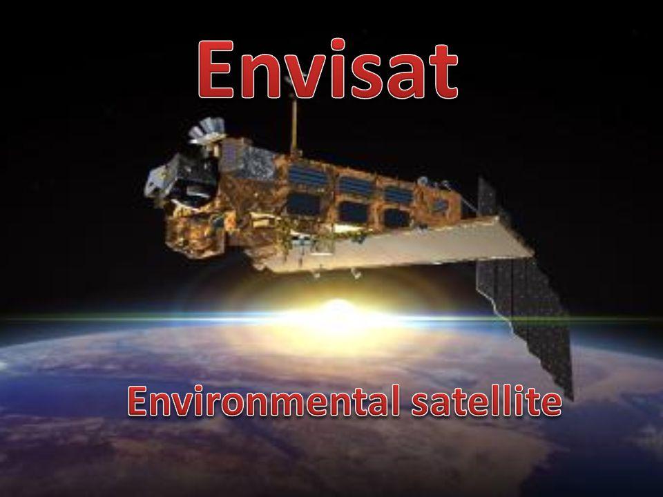 È un satellite sviluppato dall Agenzia Spaziale Europea (ESA) per controllare l ambiente terrestre nel suo complesso.