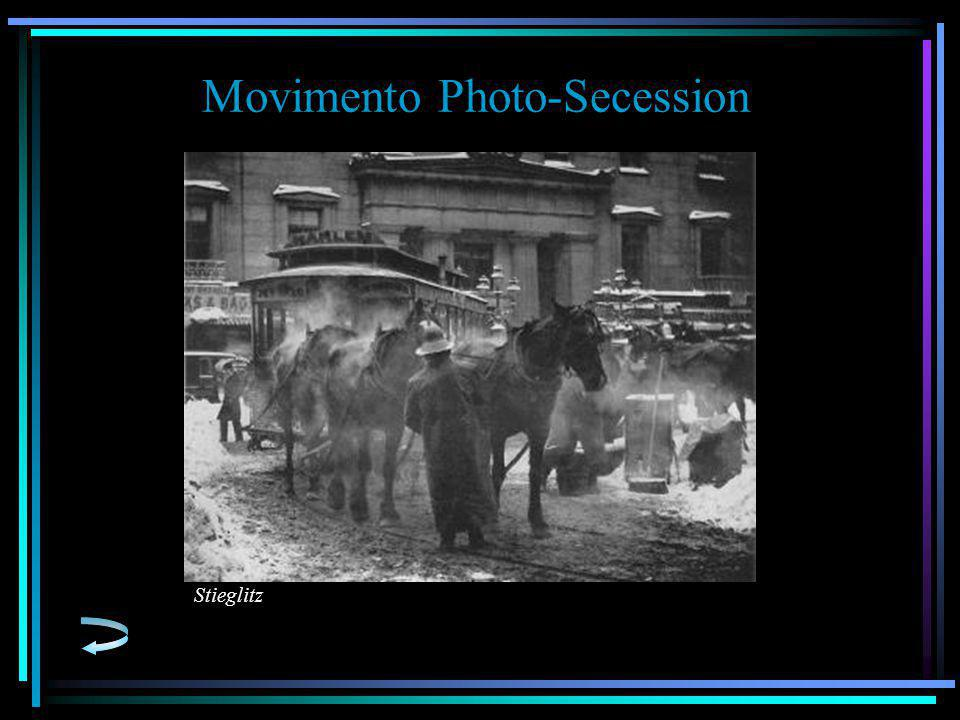 Movimento Photo-Secession Stieglitz