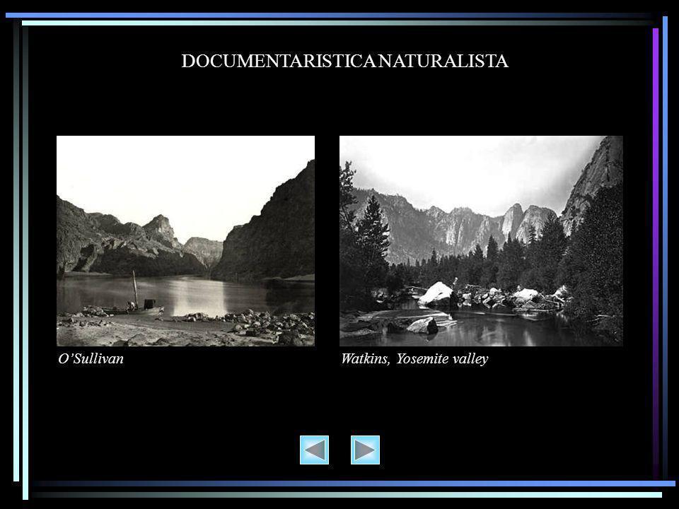 DOCUMENTARISTICA NATURALISTA O'SullivanWatkins, Yosemite valley