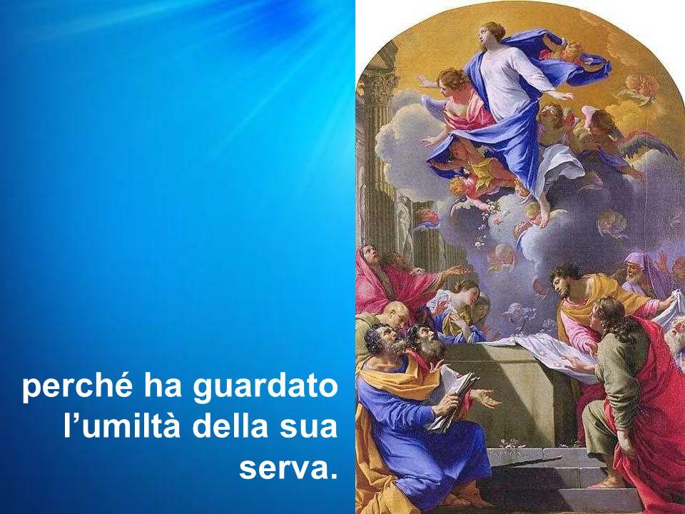 Allora Maria disse: «L'anima mia magnifica il Signore e il mio spirito esulta in Dio, mio salvatore,