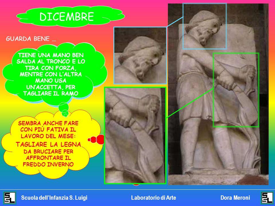 Scuola dell'Infanzia S. LuigiLaboratorio di Arte Dora Meroni NOVEMBRE LA BARBA DEL CONTADINO È ANCORA PIÙ LUNGA IL CONTADINO È PIEGATO IN AVANTI, CON
