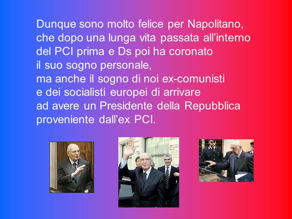 Mentre Berlusconi ingoia ancora una volta un altro rospo che aumenterà la bile del suo fegato. I libri di storia parleranno male di lui e della sua po
