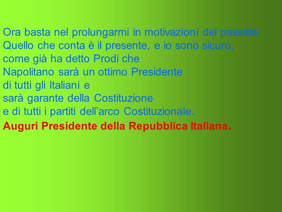 Non dobbiamo mai dimenticare tutto il lavoro di Togliatti e del vecchio PCI che ha fatto nascere la Repubblica Italiana di oggi. Senza il concorso del