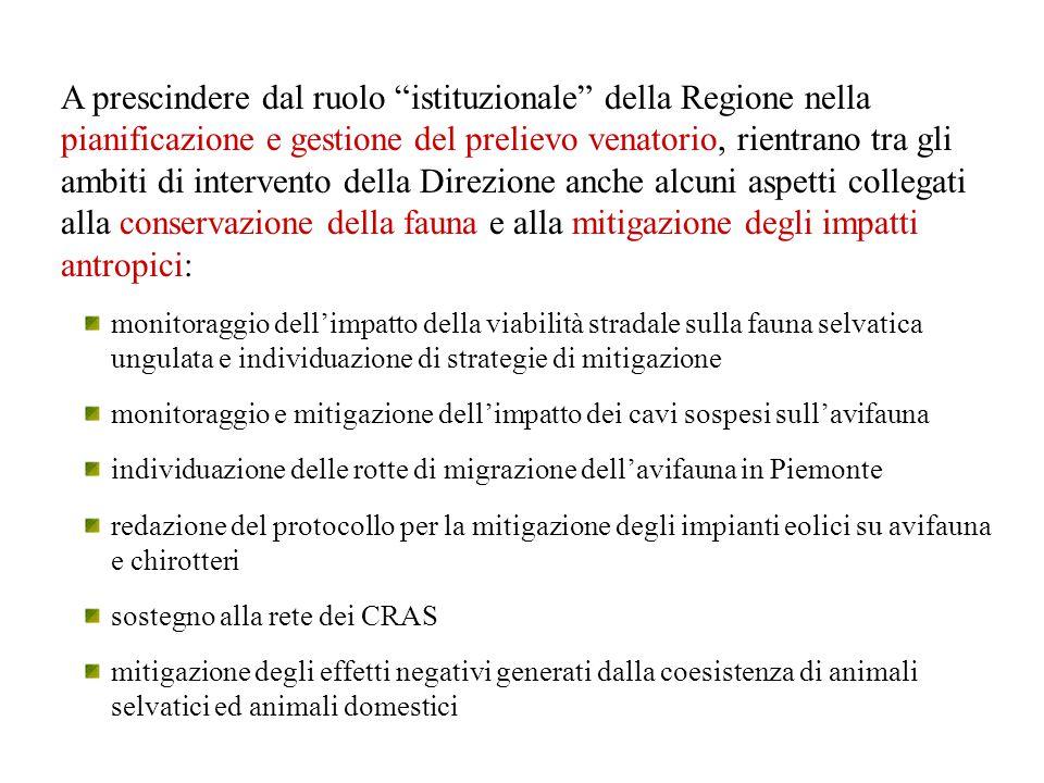 Rapporto tra gestione venatoria ed epidemiologia delle malattie.