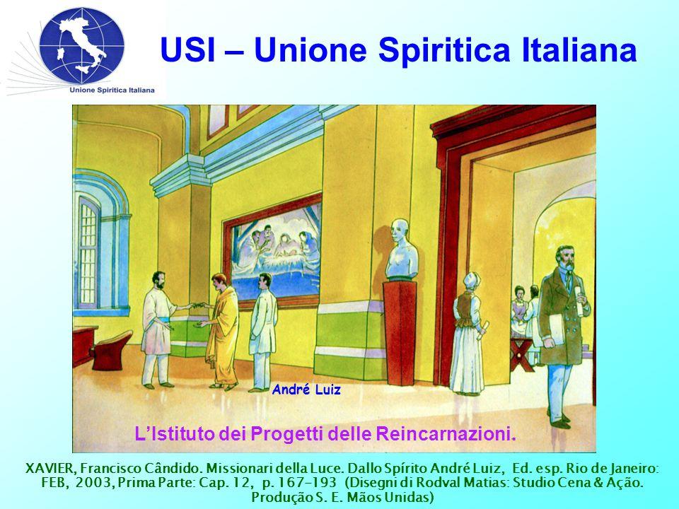 USI – Unione Spiritica Italiana XAVIER, Francisco Cândido.