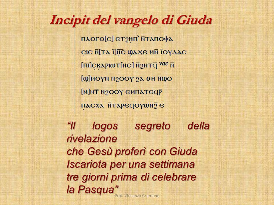 Poco prima delle festività pasquali 2006 è stata diffusa a livello mondiale la notizia del restauro e della decifrazione di un antico manoscritto.