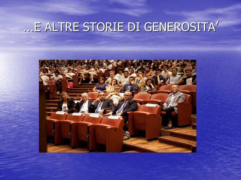 … E ALTRE STORIE DI GENEROSITA '