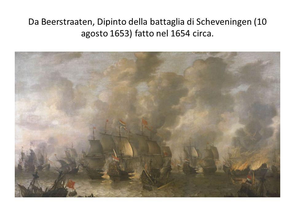 Da Beerstraaten, Dipinto della battaglia di Scheveningen (10 agosto 1653) fatto nel 1654 circa.